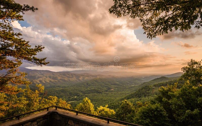 Καπνώές εθνικό πάρκο βουνών στοκ φωτογραφία με δικαίωμα ελεύθερης χρήσης