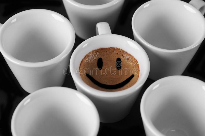 ΚΑΠ του καφέ στοκ φωτογραφία
