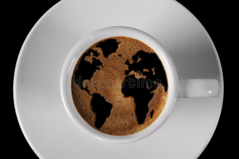 ΚΑΠ του καφέ στοκ εικόνες με δικαίωμα ελεύθερης χρήσης
