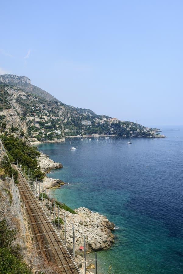ΚΑΠ d'Ail (υπόστεγο d'Azur) στοκ φωτογραφία με δικαίωμα ελεύθερης χρήσης