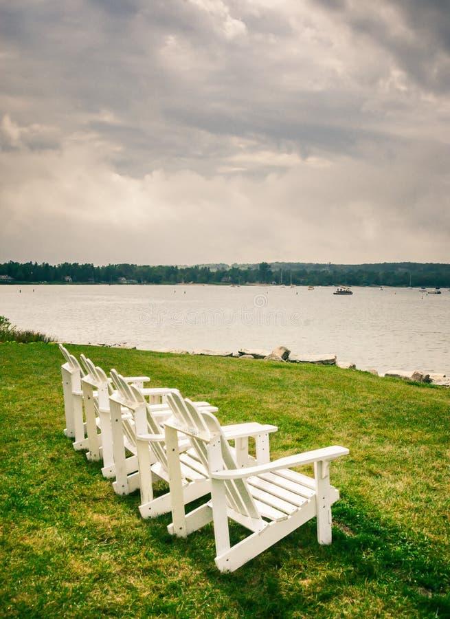 Καρέκλα Adirondack στοκ φωτογραφίες