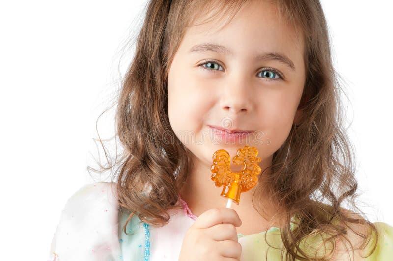 καραμέλα που τρώει το κο&r στοκ φωτογραφίες