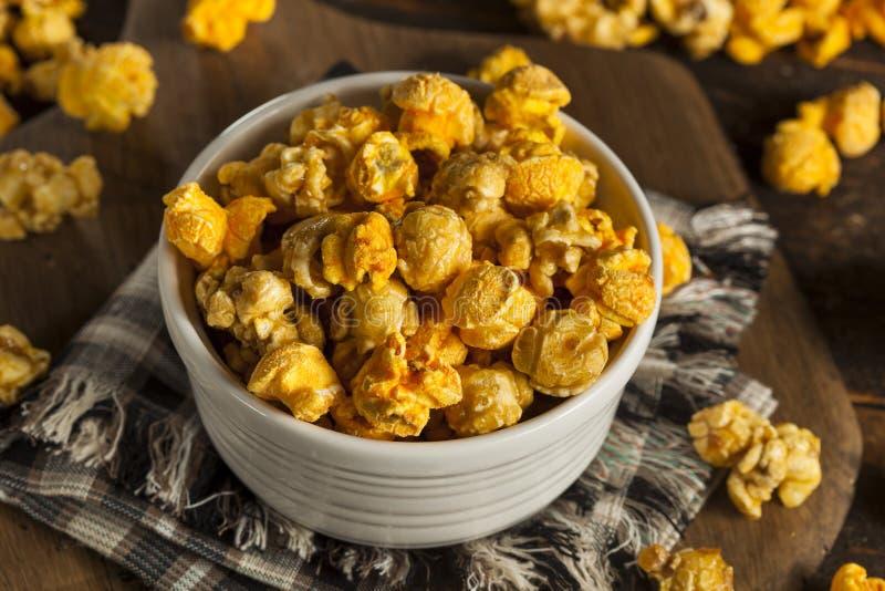 Καραμέλα ύφους του Σικάγου και Popcorn τυριών στοκ εικόνες