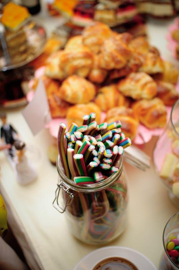 Καραμέλες, ζάχαρη ζελατίνας στοκ εικόνες με δικαίωμα ελεύθερης χρήσης