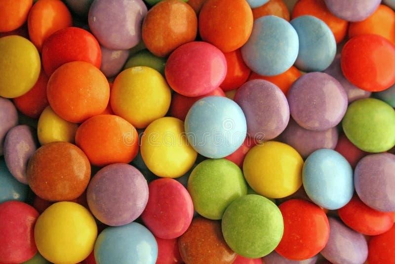 καραμέλες που χρωματίζονται στοκ φωτογραφίες