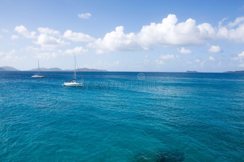 καραϊβικά ύδατα στοκ εικόνα