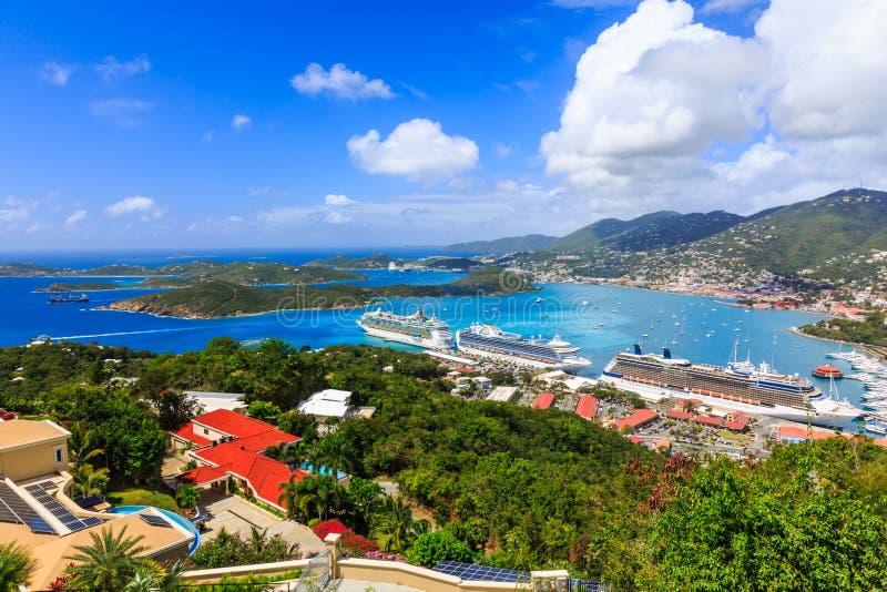 Καραϊβικές Θάλασσες, ST Thomas στοκ φωτογραφία με δικαίωμα ελεύθερης χρήσης