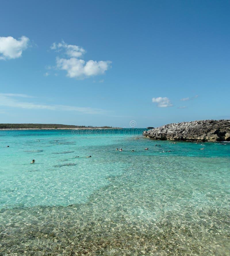 καραϊβικός σκόπελος στοκ φωτογραφία