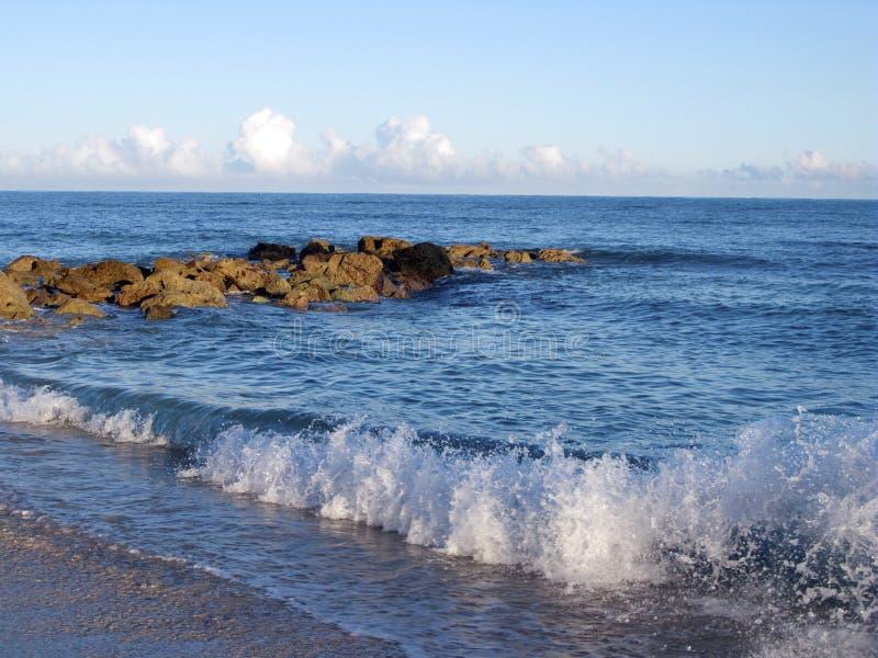 καραϊβικός ωκεανός στοκ εικόνα με δικαίωμα ελεύθερης χρήσης