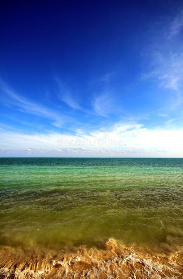 καραϊβικός ωκεανός Στοκ Εικόνα
