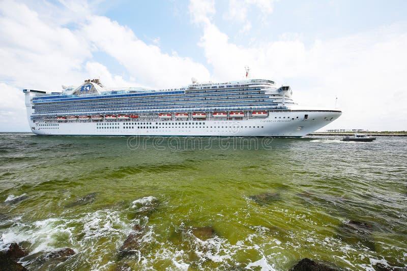 καραϊβικό σκάφος πριγκηπι στοκ εικόνα