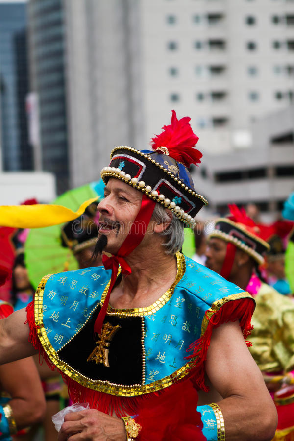 καραϊβικό carnaval φεστιβάλ Ρότερνταμ στοκ φωτογραφίες