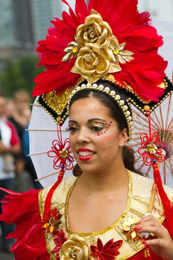 καραϊβικό carnaval φεστιβάλ Ρότερνταμ στοκ εικόνες