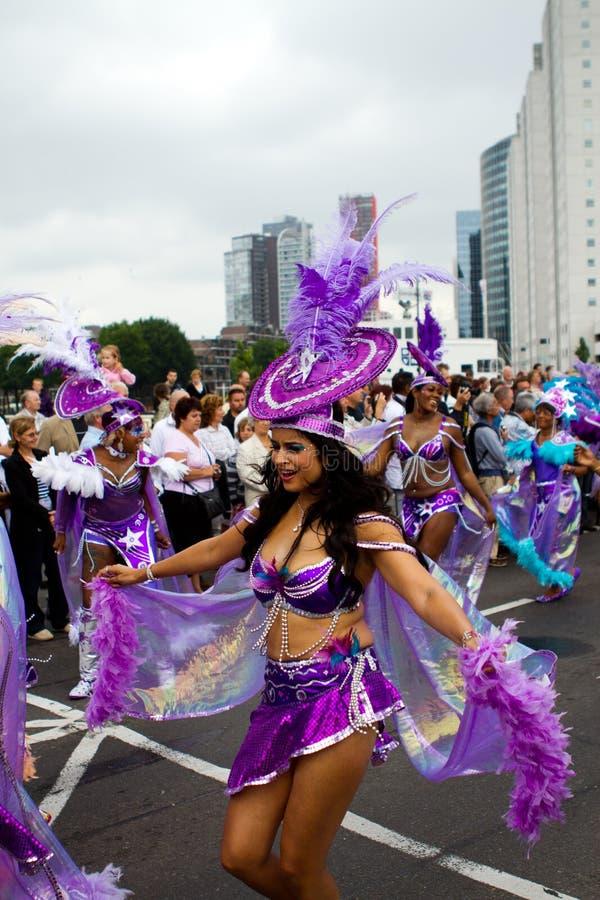 καραϊβικό carnaval φεστιβάλ Ρότερνταμ στοκ φωτογραφία με δικαίωμα ελεύθερης χρήσης