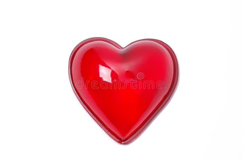 καρδιά γυαλιού στοκ εικόνα