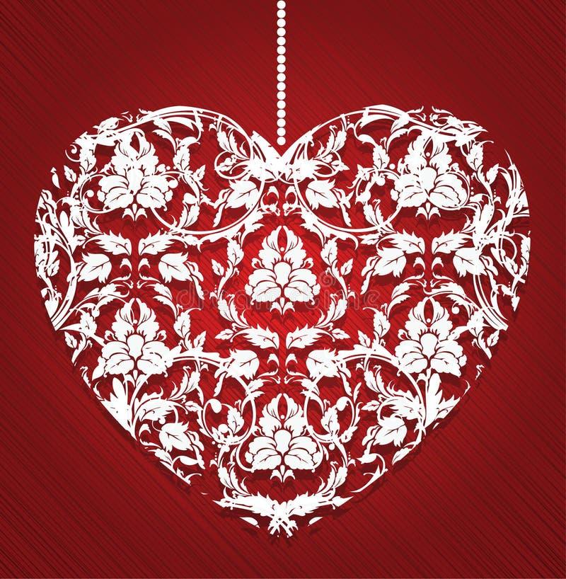 Download καρδιά δαντελλωτός διανυσματική απεικόνιση. εικονογραφία από διάνυσμα - 22798873