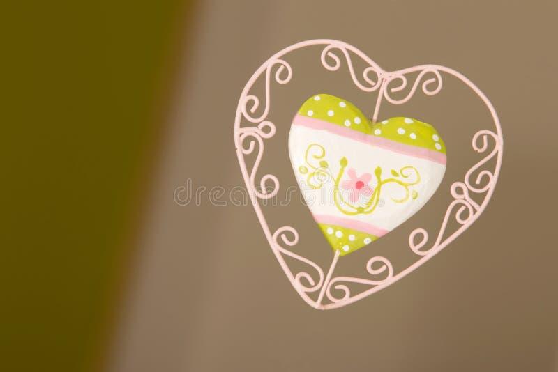 καρδιά διακοσμήσεων στοκ εικόνες με δικαίωμα ελεύθερης χρήσης