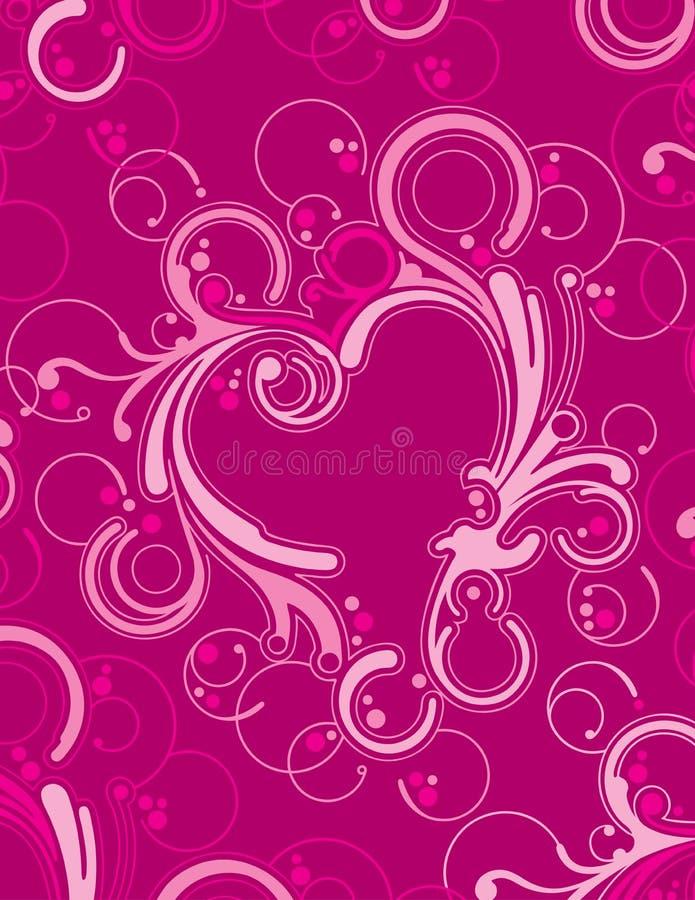 καρδιά διακοσμητική απεικόνιση αποθεμάτων
