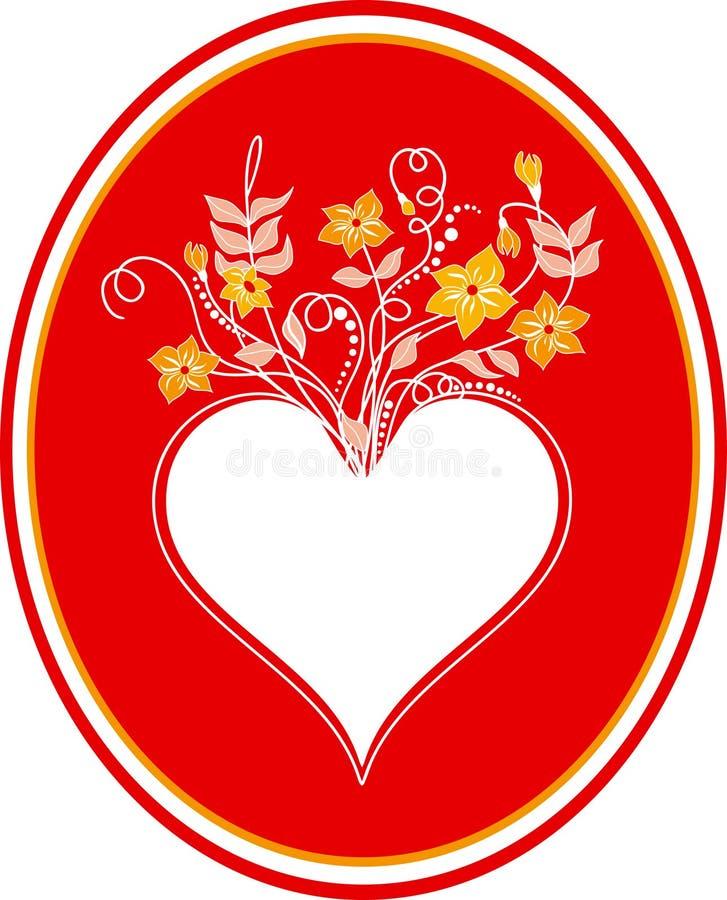 καρδιά καρτών ελεύθερη απεικόνιση δικαιώματος