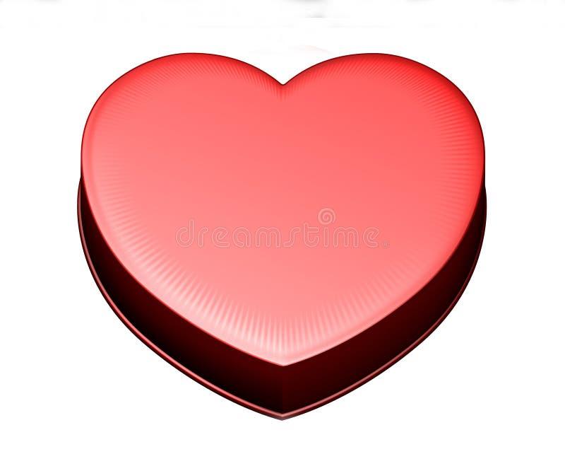 καρδιά κιβωτίων ελεύθερη απεικόνιση δικαιώματος