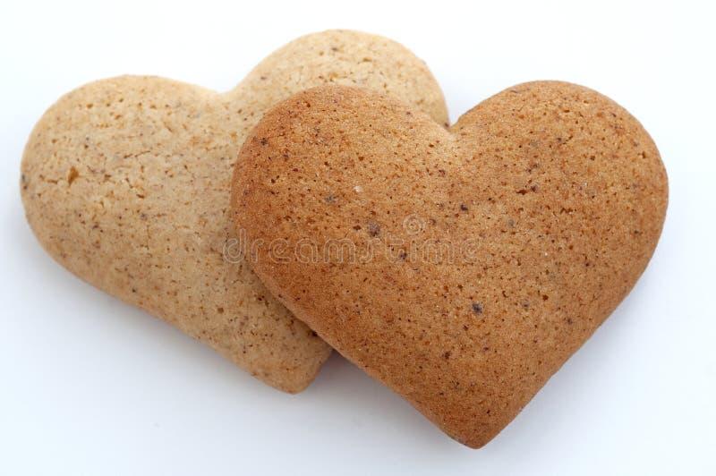 Download καρδιά μπισκότων στοκ εικόνα. εικόνα από διακοπής, ανασκόπησης - 17051539