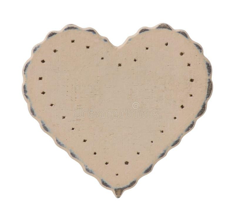 καρδιά ξύλινη στοκ εικόνες με δικαίωμα ελεύθερης χρήσης