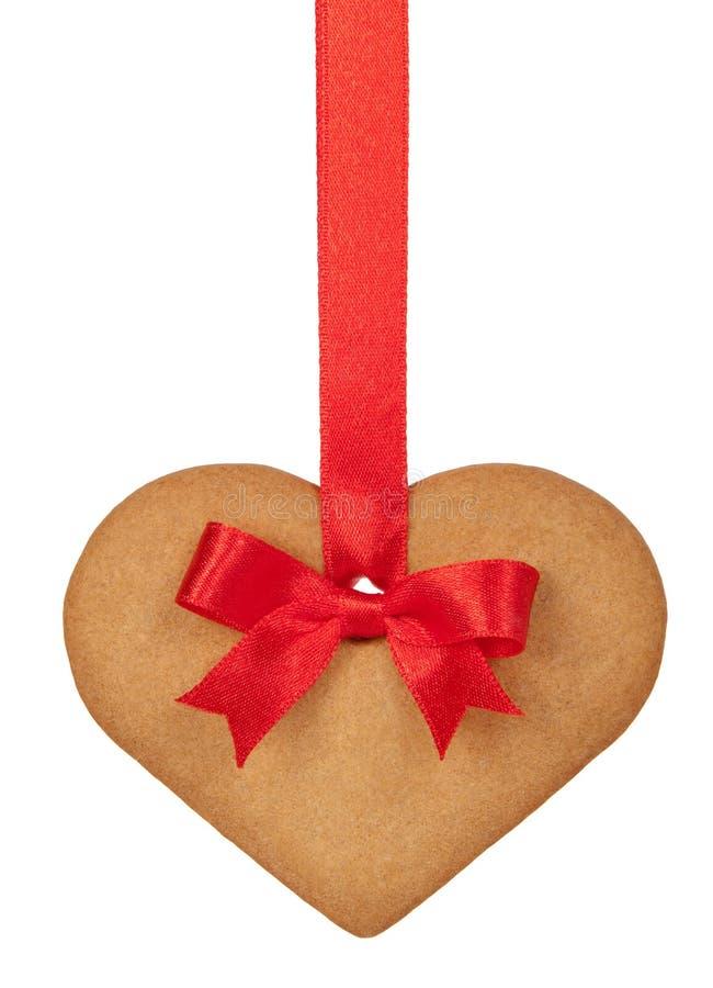 καρδιά πιπεροριζών ψωμιού στοκ φωτογραφία με δικαίωμα ελεύθερης χρήσης