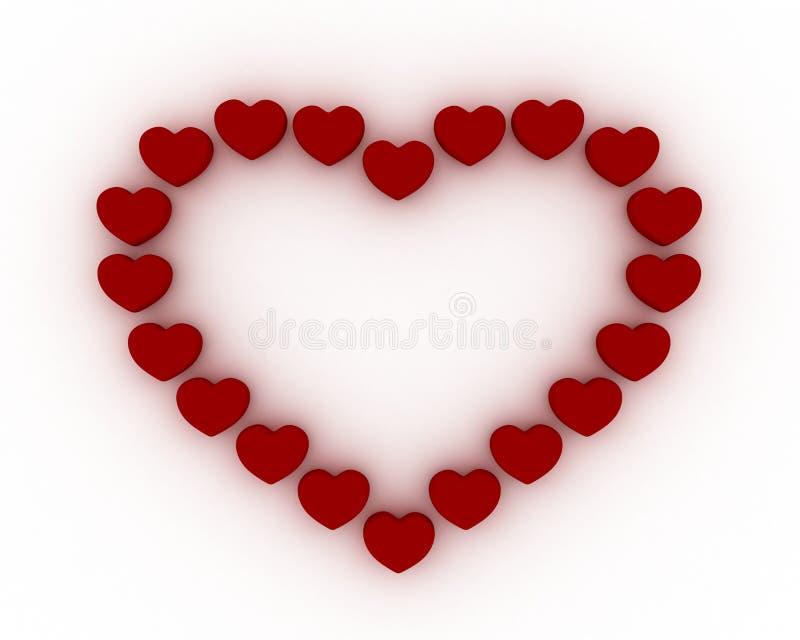 καρδιά πλαισίων στοκ εικόνες με δικαίωμα ελεύθερης χρήσης