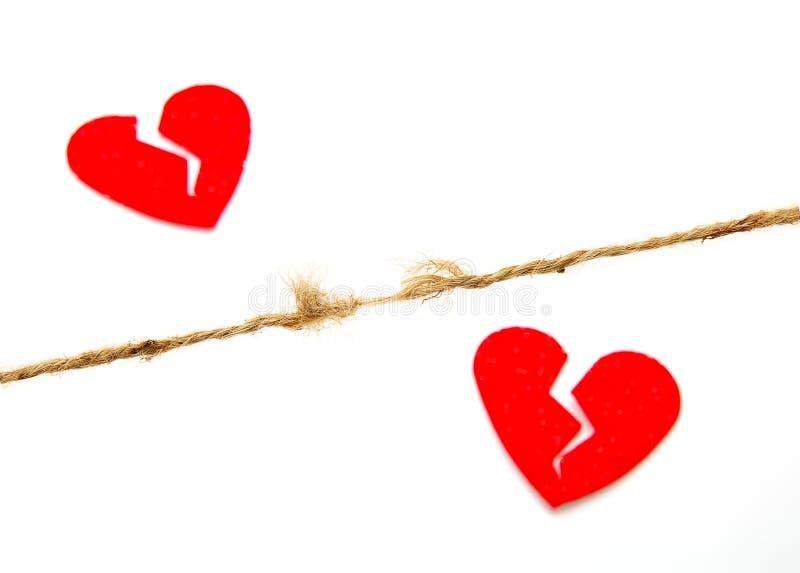 καρδιά σπασιμάτων στοκ φωτογραφία με δικαίωμα ελεύθερης χρήσης