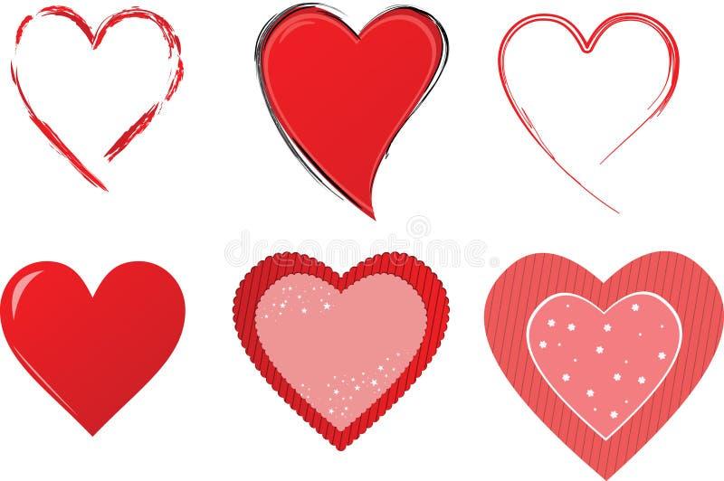καρδιά συλλογής απεικόνιση αποθεμάτων