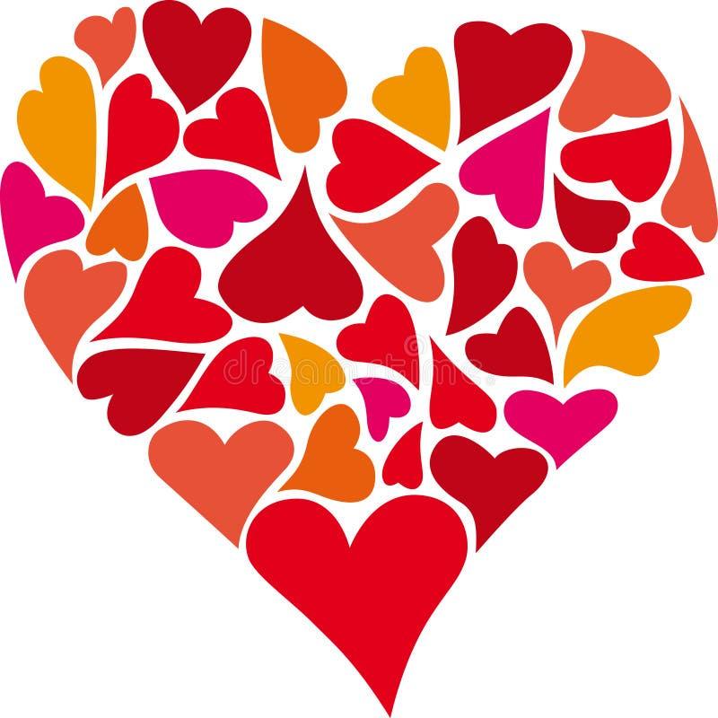 Καρδιά των καρδιών απεικόνιση αποθεμάτων