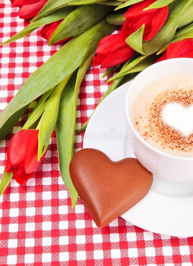 Download καρδιά φλυτζανιών καφέ σο&ka Στοκ Εικόνες - εικόνα από καρδιά, κάρτα: 22785768