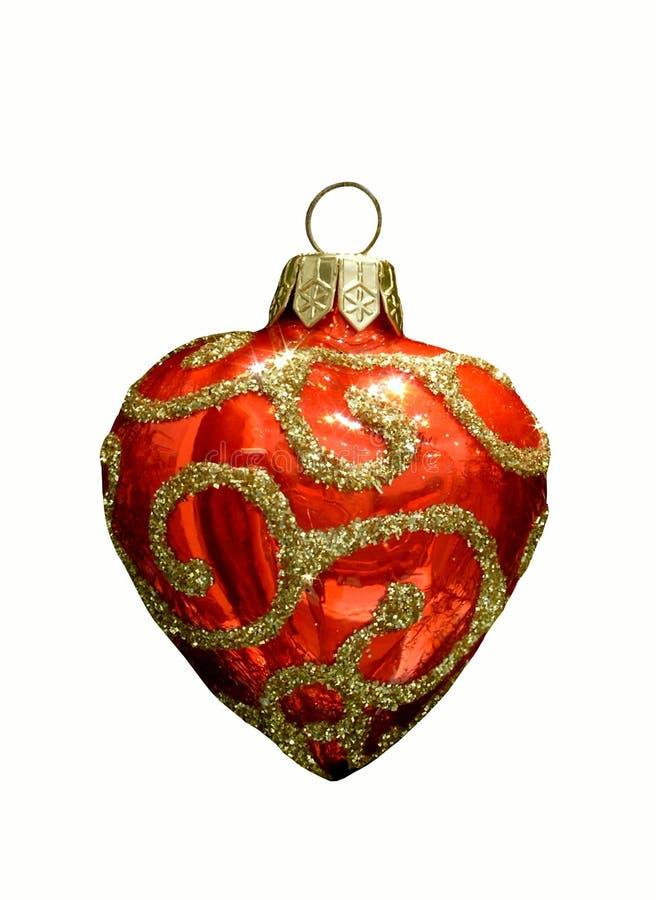καρδιά Χριστουγέννων στοκ φωτογραφία με δικαίωμα ελεύθερης χρήσης