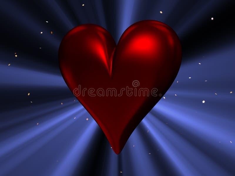Download καρδιά απεικόνιση αποθεμάτων. εικονογραφία από κόκκινος - 13190051