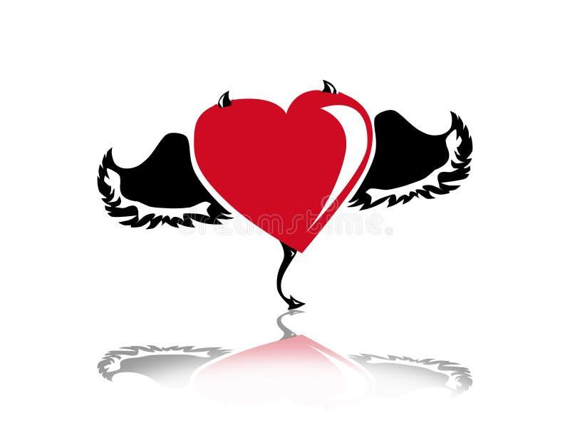 καρδιά ελεύθερη απεικόνιση δικαιώματος