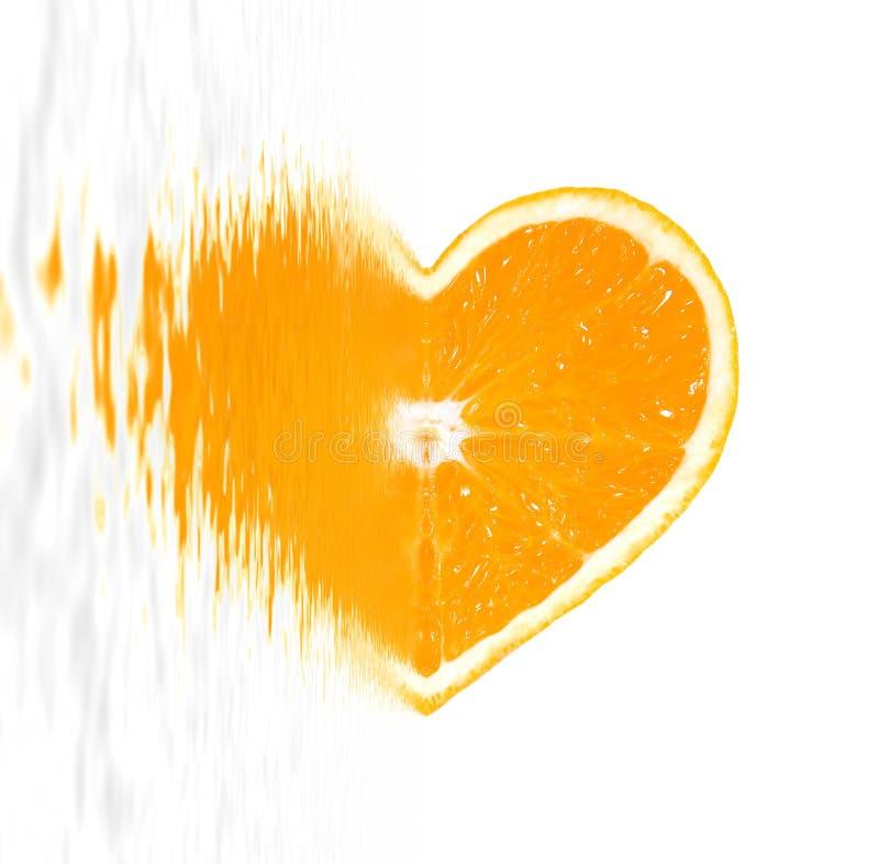 καρδιά juicy στοκ εικόνες