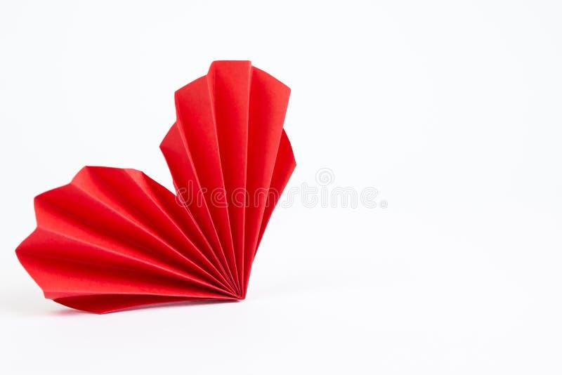 Καρδιά Origami στοκ φωτογραφίες με δικαίωμα ελεύθερης χρήσης
