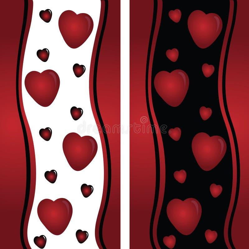 καρδιές εμβλημάτων στοκ εικόνες με δικαίωμα ελεύθερης χρήσης