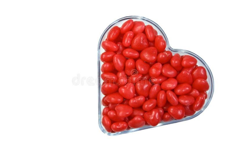 καρδιές κανέλας στοκ εικόνα