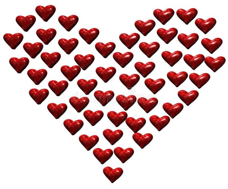 Download καρδιές καρδιών απεικόνιση αποθεμάτων. εικονογραφία από cupid - 384825