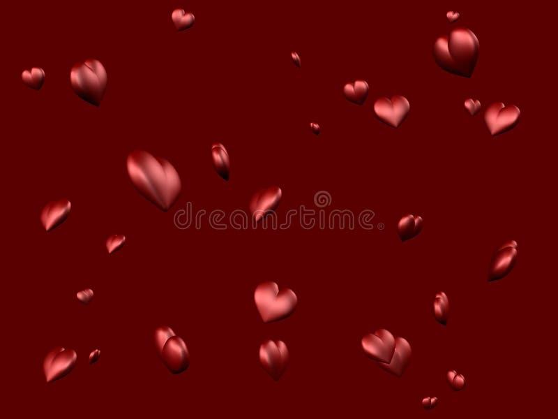 καρδιές 1 διανυσματική απεικόνιση