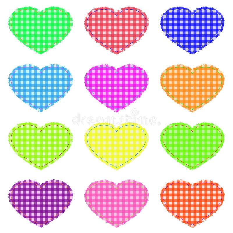καρδιές στοκ εικόνα με δικαίωμα ελεύθερης χρήσης