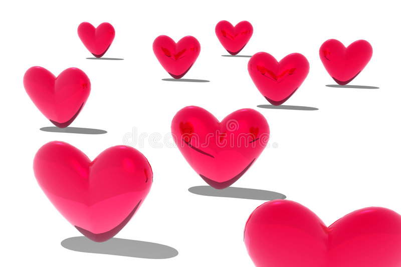 Download καρδιές απεικόνιση αποθεμάτων. εικονογραφία από χαιρετισμός - 386892