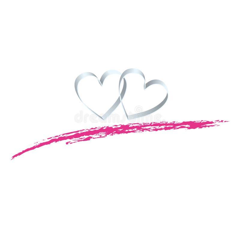 καρδιές απεικόνιση αποθεμάτων