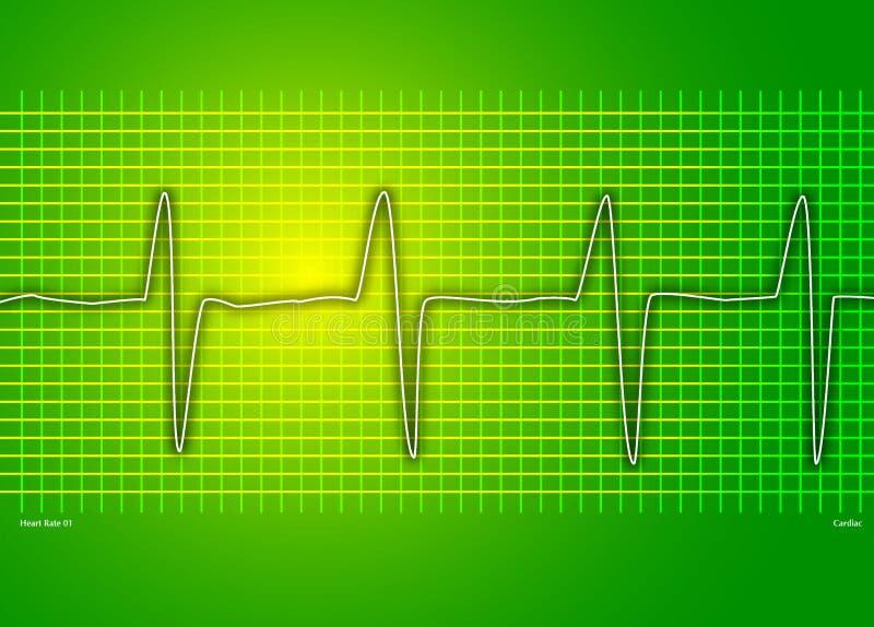 Download καρδιακή γραφική παράσταση πράσινη Απεικόνιση αποθεμάτων - εικονογραφία από υγεία, άσκηση: 525505