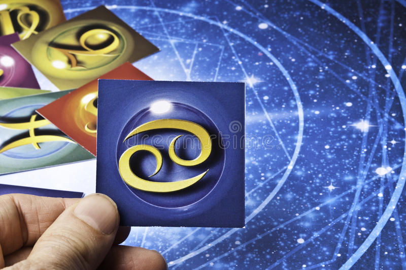 Καρκίνος αστρολογίας στοκ εικόνες με δικαίωμα ελεύθερης χρήσης