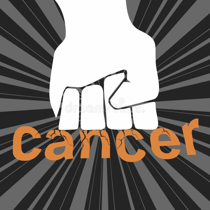 καρκίνος διανυσματική απεικόνιση
