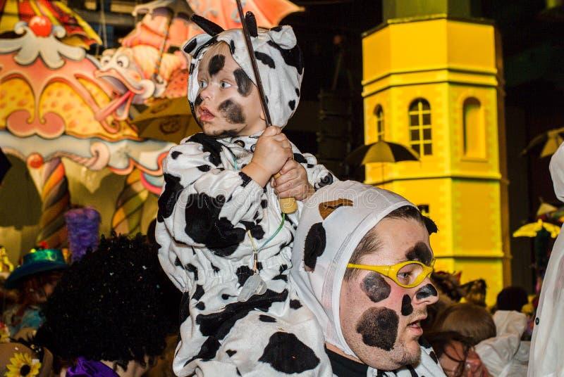 Καρναβάλι σε Dunkirk, Γαλλία στοκ φωτογραφίες με δικαίωμα ελεύθερης χρήσης