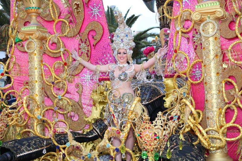 καρναβάλι cruz de santa tenerife στοκ φωτογραφίες με δικαίωμα ελεύθερης χρήσης