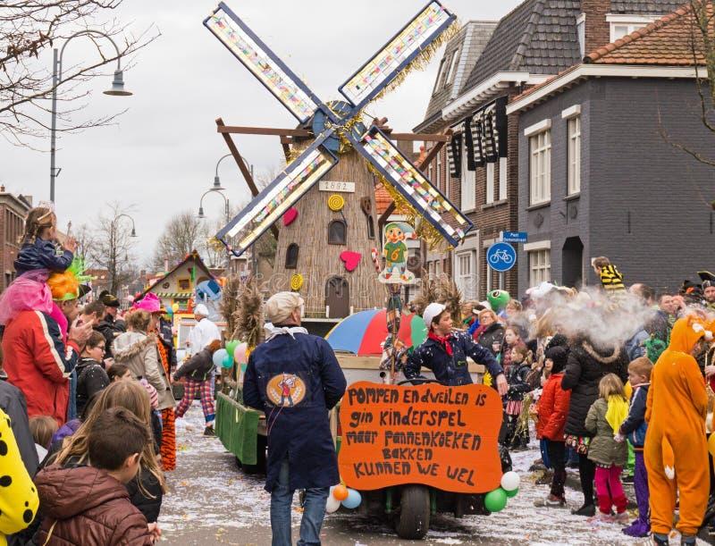 Καρναβάλι παιδιών στις Κάτω Χώρες στοκ φωτογραφίες με δικαίωμα ελεύθερης χρήσης
